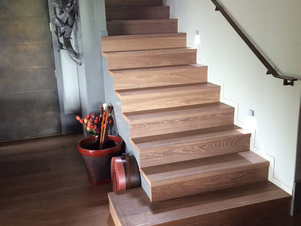 Inlays to Timber Stairs